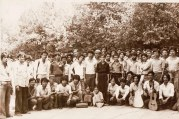 Kshitiz, Vedana, and Chitwan Cultural Families, together in Delhi at Firoz Shah Rd, 1982.