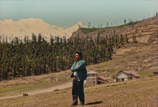 Khusiram Pakhrin in Humla, 1991.