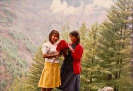 Anjana Gurung and Usha Lama, Humla, 1991.