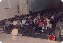 Audience, Jalandhar, Punjab, 1987.