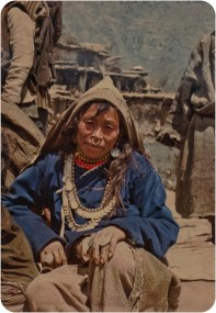 Audience member, Humla, 1991.