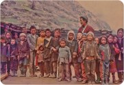 Audience members, Humla, 1991.