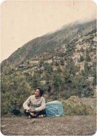 Khusiram Pakhrin, Pisang, Manang, 1993.