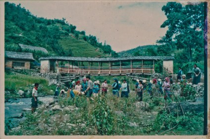Samana Cultural Family in Rolpa Baghmara, sometime between 1996 and 2000.