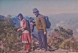 Sharada Shrestha, Khusiram Pakhrin, 1995. Chitwan.