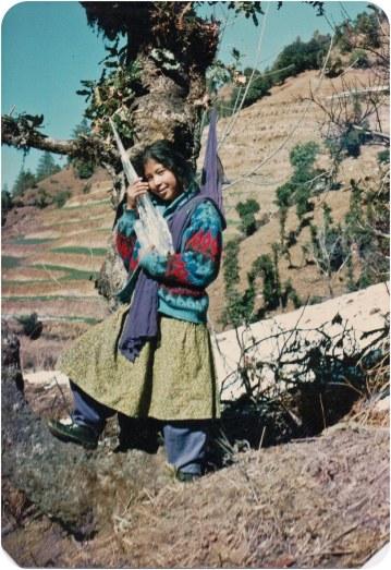 Chunu Gurung, Rolpa, 1992.