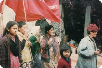 March in Rolpa, 1992.