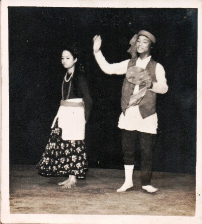Shanti Shah and Umba Raj Gurung, Madras 1981