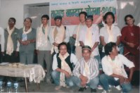 Tamang ethnic newspaper's program, 2010.