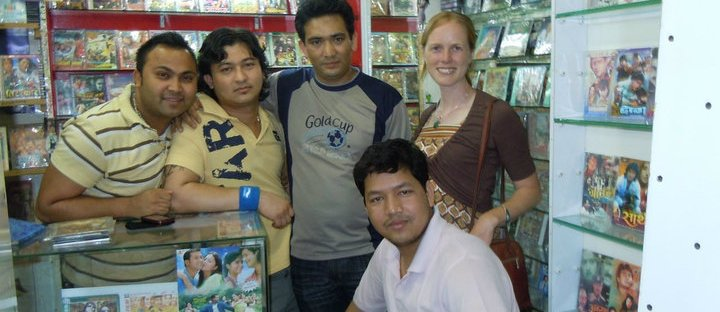 In Nepali Audio and Video Store, Manama, 2010